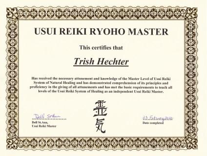 IReiki Master cert